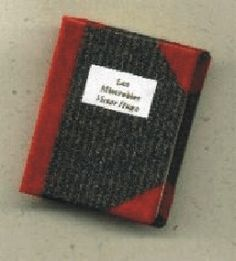 How to Make a Miniature Book from a Sticky Note Pad by Debbie Dodd