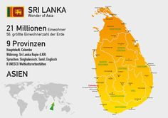 Daten und Fakten Sri Lanka