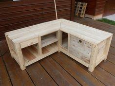 Meuble t l bar en palette de r cuperation mode et bar - Association de recuperation meubles gratuit ...