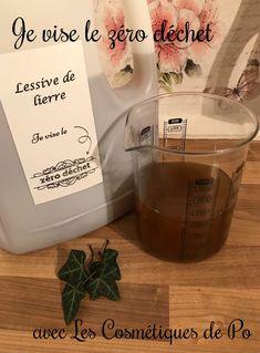 Bonjour à toutes et à tous, Toujours dans ma démarche Zéro Déchet, voici ma recette de lessive de lierre. Le lierre chauffé permet de libérer de la saponine végétale, qui permet de laver... si, si ! Sans plus attendre, voici la recette. Les ingrédients...