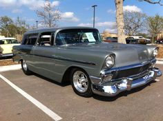 chevy, nomad | Handsome 1956 Chevy Nomad Hot Rod | ATX Car Pictures | Real Pics from ...
