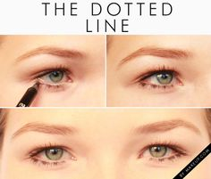 3 New Ways to Wear Bottom Eyeliner // dotted liner on the lower lash line