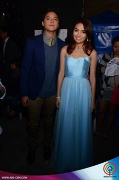 "2 - PHOTOS: Kathryn and Daniel moments at the ""Kapamilya Thank You"" trade event - Push.com.ph"