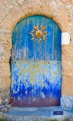 Saint Jean de Buèges old door ~ Hérault, France