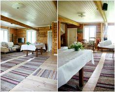 Tarja's Snowland: Ystävien koti: 1800-luvun kunnostettu hirsitalo
