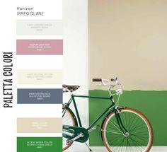 Righe orizzontali irregolari nella decorazione delle pareti. Dark Red, Desktop Screenshot, Neutral, Green, Blue