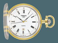 Official Tissot Website - Watches - T-Pocket - TISSOT SAVONNETTE QUARTZ - T83855313