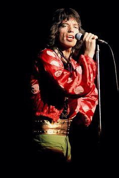 1972- Mick Jagger