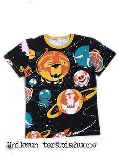 size 140 t-shirt by Unikuun terapiahuone