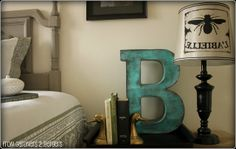 from GARDNERS 2 BERGERS: ✥ DIY Paper Mache Letters ✥