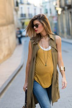 Tricks to solve your looks - Gravidez - Pregnant Women Cute Maternity Outfits, Stylish Maternity, Maternity Wear, Maternity Fashion, Maternity Dresses, Maternity Styles, Maternity Swimwear, Maternity Clothing, Pregnant Outfits