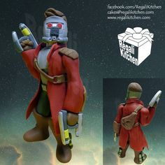 Guardians of the Galaxy Cake Topper | Star-Lord | Peter Quill | by The Regali Kitchen