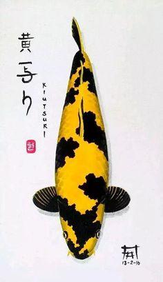 Beautiful Fish, Beautiful Anime Girl, Hi Utsuri, Koi Fish Colors, Fish Chart, Koi Painting, Koi Art, Koi Fish Pond, Carpe