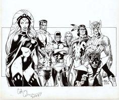 Art Adams' Classic X-Men, 1985.