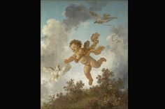 Fragonard - The Progress of Love: Love Pursuing a Dove