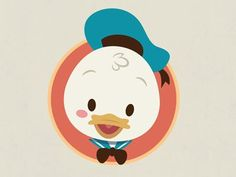Image result for donald duck chibi