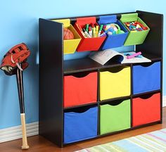 Storage Ideas For Rooms And Children's Playgrounds - jihanshanum Small Bedroom Furniture, Small Room Bedroom, Baby Bedroom, Kids Furniture, Furniture Stores, Boy Room, Kids Room, Diy Cardboard Furniture, Diy Cnc Router