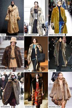 Vintage-Inspired Furs
