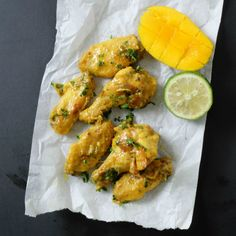 Mango Lime Chicken Wings - Paleo, AIP, Low Carb