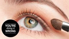 Learn the right way to apply your eyeshadow on SHEfinds.com.