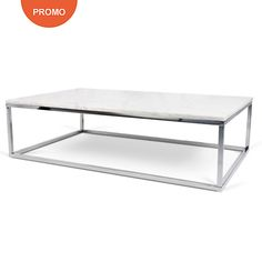 Stainless Steel Cube Coffee Table Design Metal Contemporary Coffee
