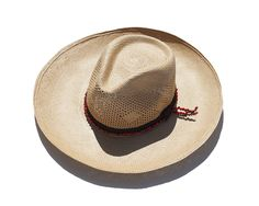 Sensi Studio Straw Hat, Summer Hat, Straw Hat, Classic Hat, Cowboy Chic, Summer Essential / Garance Doré Goods