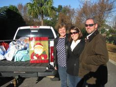 The kind people of the Essex at Carolina Bay subdivision dropped by CYDC campus Dec. 12 to deliver X-mas toys, gift cards and check to benefit our youth! Pictured L to R: are Susan, Katherine and Tee Mappus. #spiritofgiving