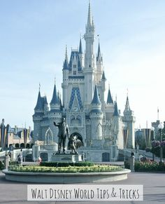 Walt Disney World tips including booking Be Our Guest reservations, parade viewing, how to get in to the Magic Kingdom before it opens, and more!