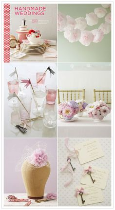 Handmade wedding and DIY ideas