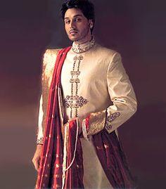 M287 Sherwani for Wedding Men's Sherwani Wedding Sherwani Groom's Sherwani Bright Shades