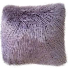 Keller Faux Mongolian W X L Nirvana Square Indoor Decorati Modern Throw Pillows, Fur Throw Pillows, Faux Fur Throw, Decorative Throw Pillows, Cozy Blankets, Cricut, Mongolian Fur Pillow, Purple Pillows, Purple Bed