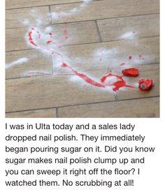 Nail Polish and Sugar