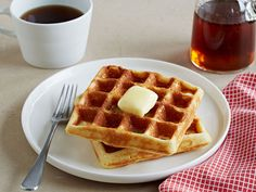 Crisp and Airy Gluten-Free Waffles recipe from Food Network Kitchen via Food Network