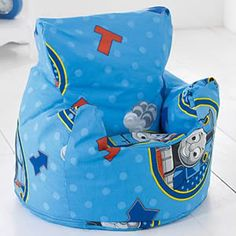 Thomas and Friends Thomas The Tank Engine Bean Chair  This comfortable bean chair makes a perfect touch to a Thomas themed bedroom. Approximately 3 cubic   http://www.comparestoreprices.co.uk/childrens-bedding/thomas-and-friends-thomas-the-tank-engine-bean-chair.asp