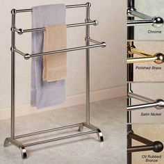 3 Tier Towel Rack