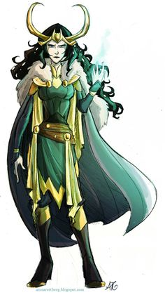 Could it be?! A Lady Loki who isn't showing mass amounts of skin?!