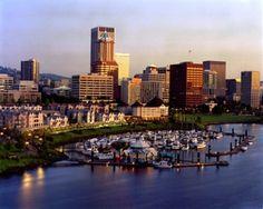 portland oregon riverwalk | Riverfront Portland - river, portland, city, oregon