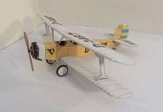 Udet U 12 Flamingo Free Aircraft Paper Model Download…                                                                                                                                                                                 More