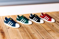 "adidas Superstar 80s ""Suede"" Pack (Preview)"