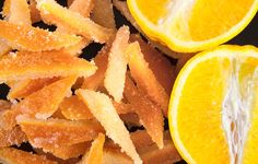 How To Make Candied Citrus Peels  http://www.rodalesorganiclife.com/food/how-make-candied-citrus-peels?utm_source=RLF01