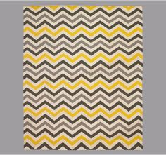 Dwell Studio Zig Zag Citrine Rug $650.00 for 8x10  There must be a cheaper option for a kid's room!
