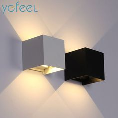 Cheap wall light outdoor, Buy Quality light outdoor directly from China led wall outdoor lighting Suppliers: [YGFEEL] 6W LED Wall Light Outdoor Waterproof IP65 Modern Nordic style Indoor Wall Lamps Living Room Porch Garden Lamp AC90-260V