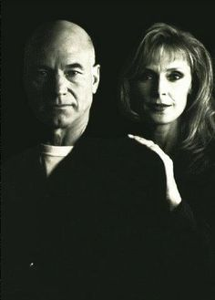 Capt. Jean-Luc Picard and Dr. Beverly Crusher, Commander (Star Trek: Next Generation)