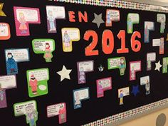 Teaching Spanish w/ Comprehensible Input: En 2016 espero que... A Bulletin Board for the New Year