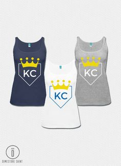 Kansas City Royals KC Baseball Home by DimestoreSaintDesign