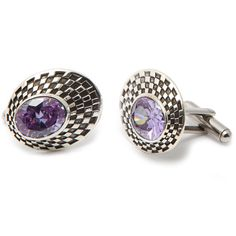 Custom precious gem cuff links by Matt Booth, Room 101 Brand Lifestyle.