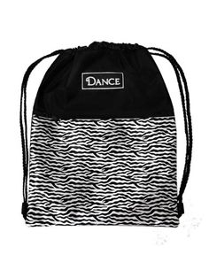 Horizon Dance 8036 ZDance Zebra Dance Backpack for Girls -- To view further for this item, visit the image link. Best Kids Backpacks, Girl Backpacks, Move Your Body, Dance Class, Dance Outfits, Dance Wear, Travel Style, Drawstring Backpack, Fashion Brands