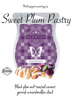 Scentsy 2016 | Sweet Plum Pastry | New release | Fall & Winter | #scentsy…
