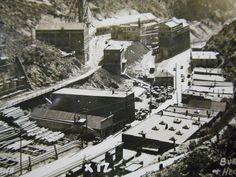 Burke Idaho Hecla Mine Real Photo Postcard by albrechtsantiques, $9.00