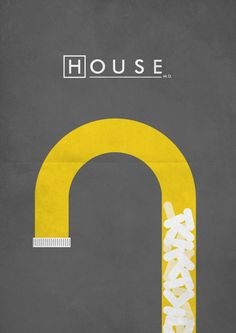 House M.D. (2004–2012) ~ Minimal TV Series by E. Novazheev #amusementphile